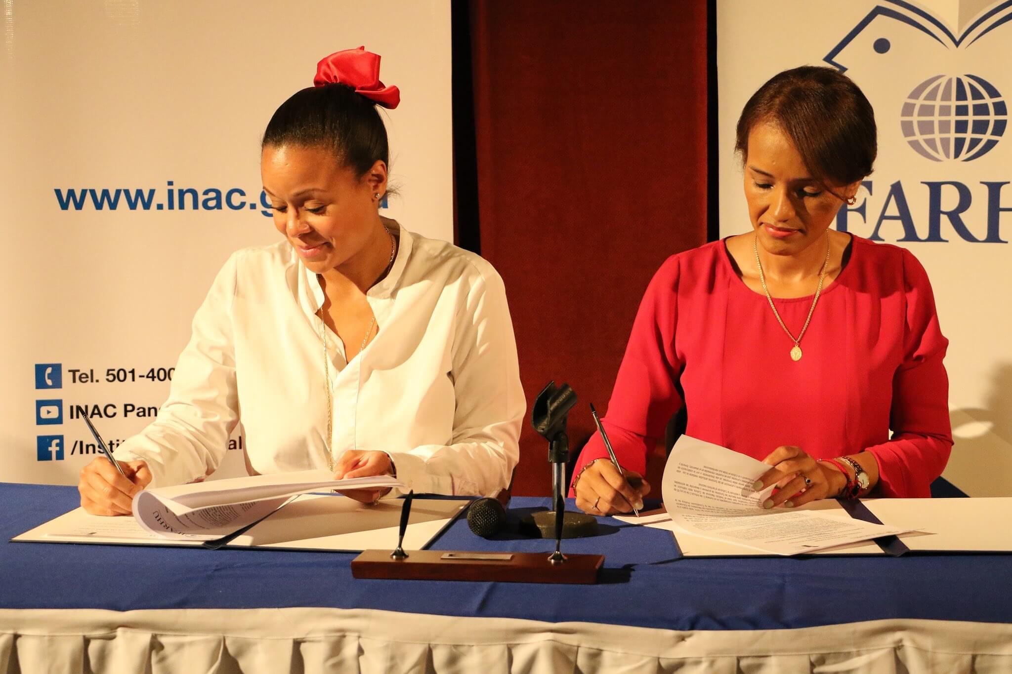 IFARHU y el INAC firman convenio de cooperación académica