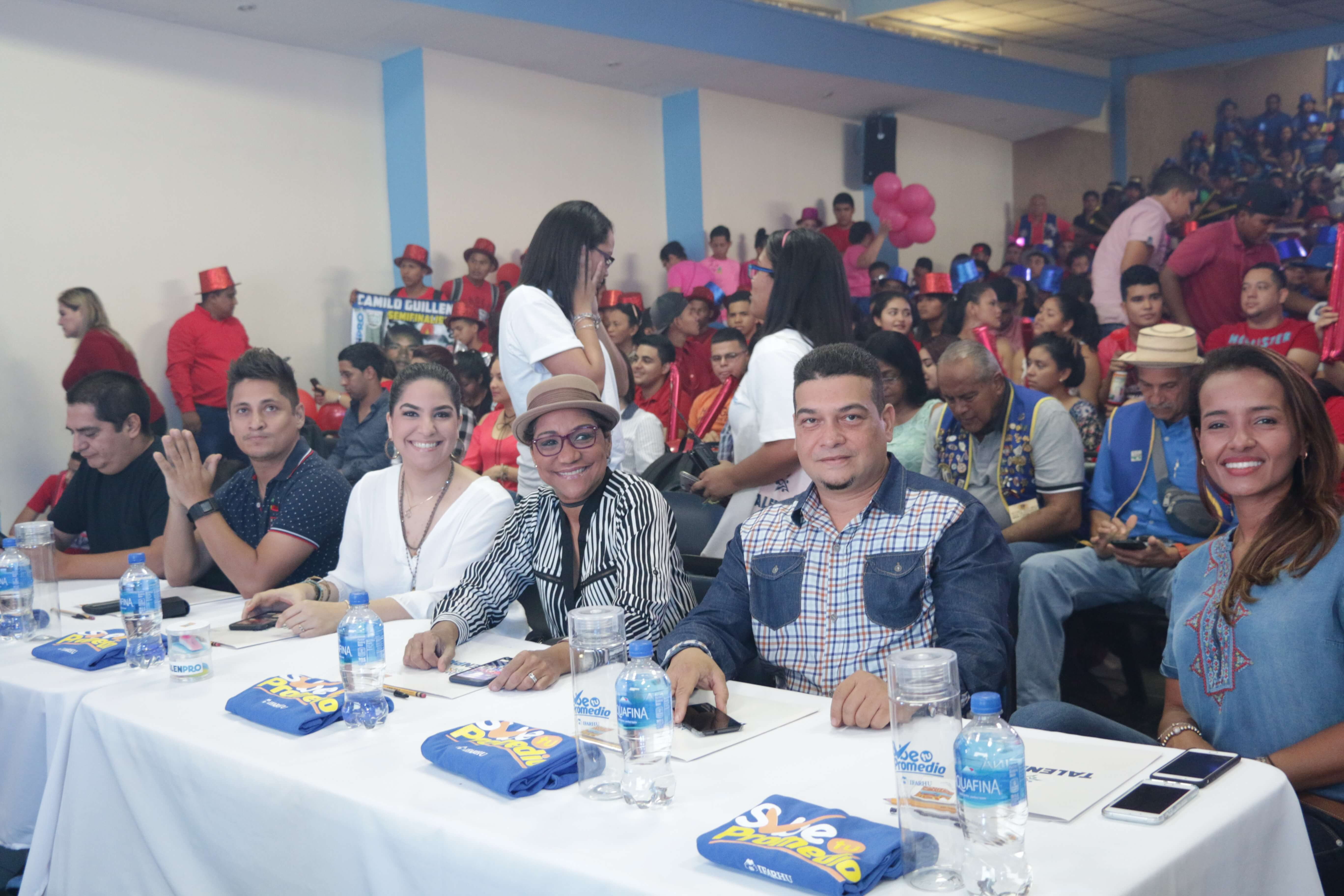 Yesenia Rodríguez, directora general del IFARHU participa de semifinales de TALENPRO