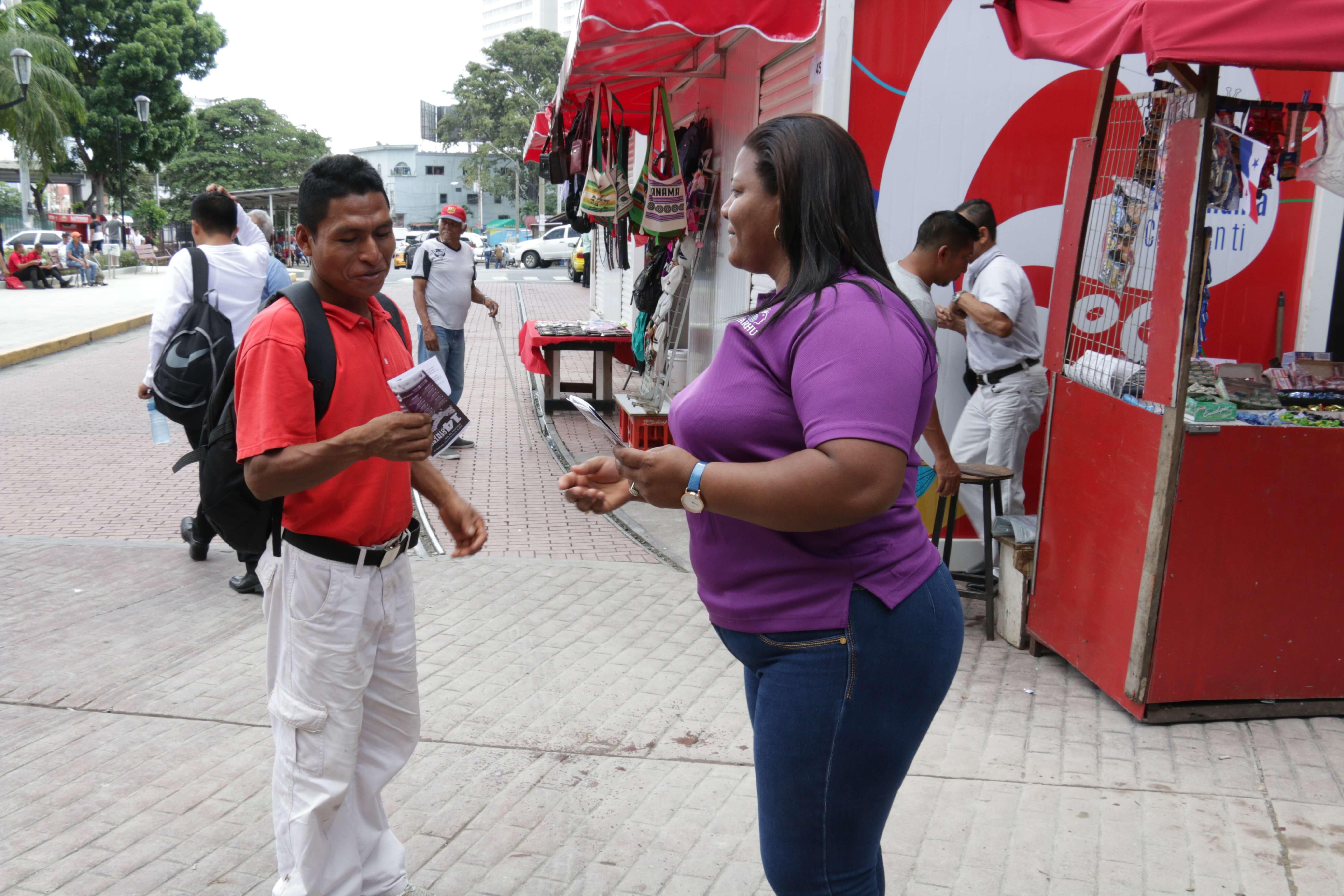 IFARHU se suma a la campaña contra la violencia de la mujer