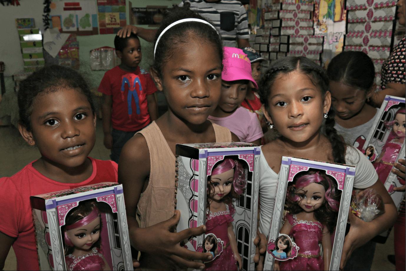 IFARHU participó del agasajo navideño en el día del Voluntariado de Panamá