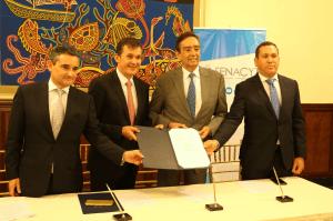 IFARHU firma convenio con SENACYT y la Embajada de Francia