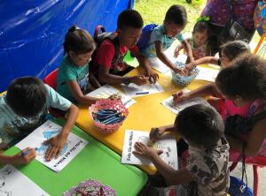 Niños y niñas celebran su día en el Parque Omar y Centro de Convenciones Amador