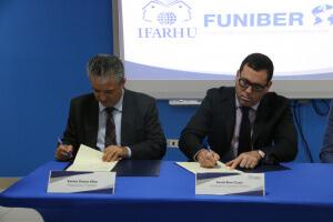 IFARHU y FUNIBER firman convenio de cooperación académica