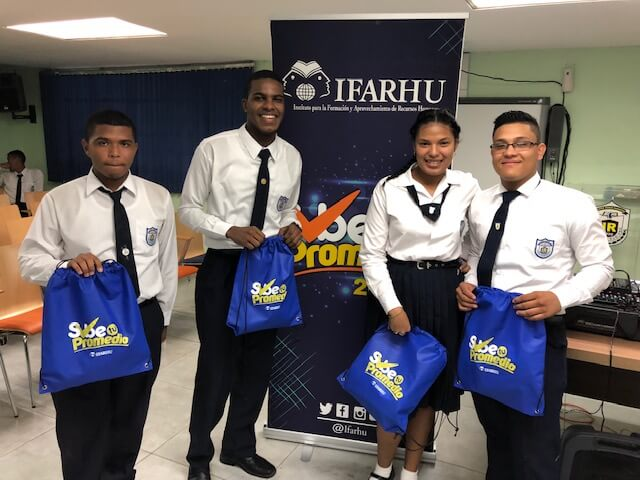"IFARHU continúa visitando escuelas con programa ""Sube Tu Promedio"""