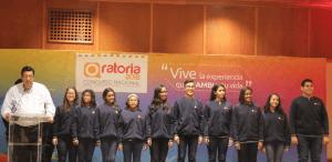Finalista del Concurso Nacional de Oratoria reciben becas